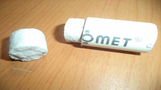 Stuffed Paper to Create Bullet