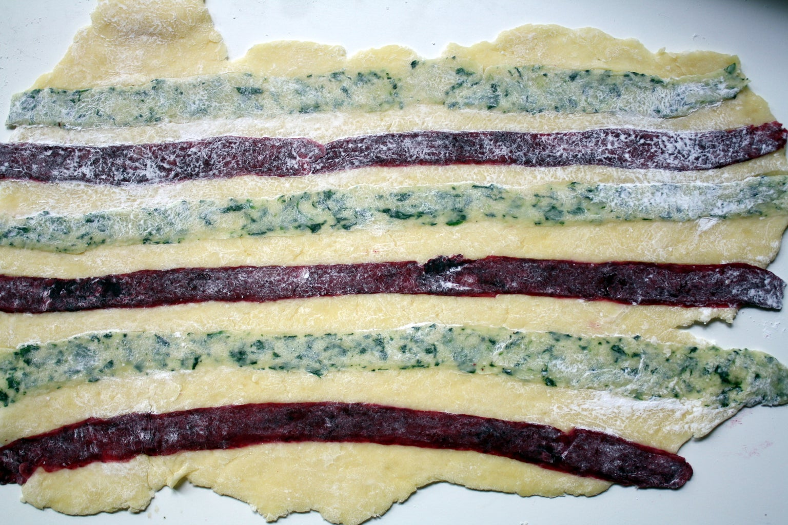Roll Pasta Dough