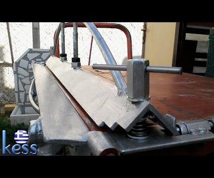 DIY Sheet Metal Brake Fully Modified