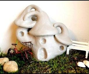 DIY Fairy House Sculpt Tutorial