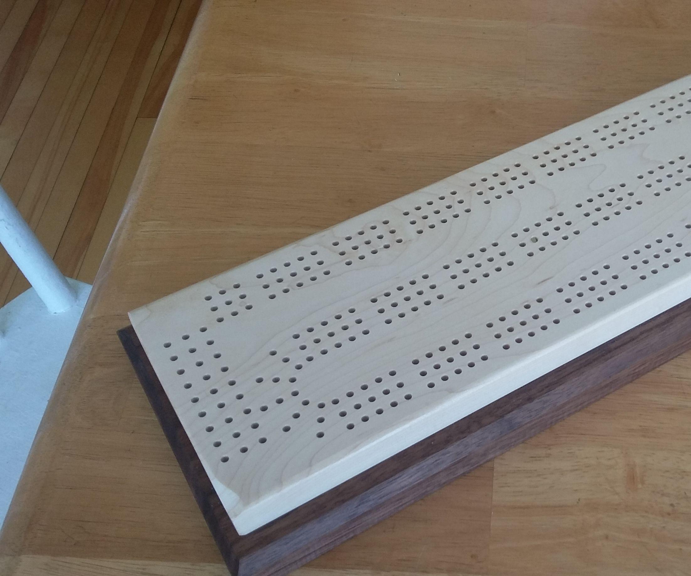 Elegant Cribbage Board