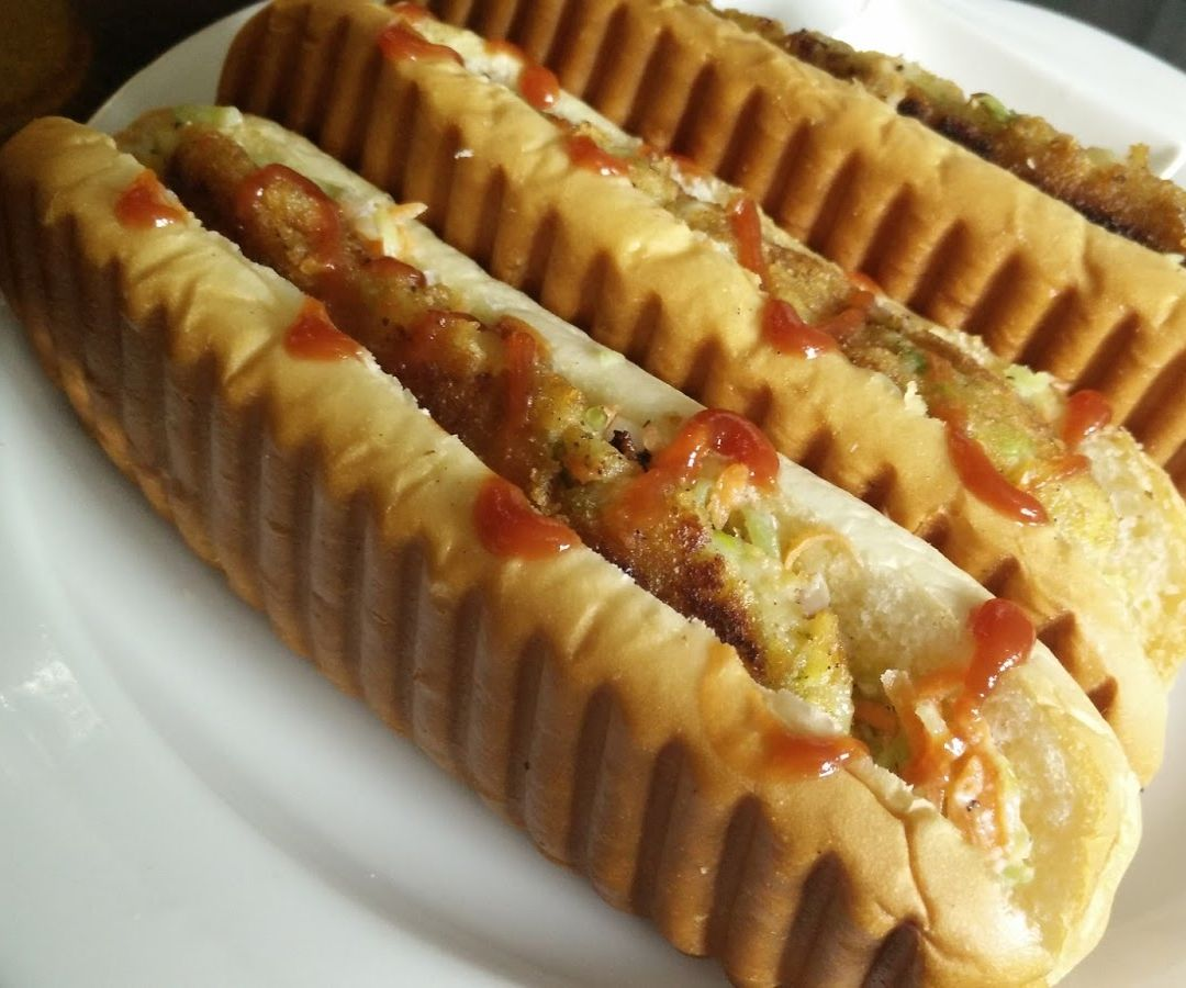 Vegetable Hot Dog