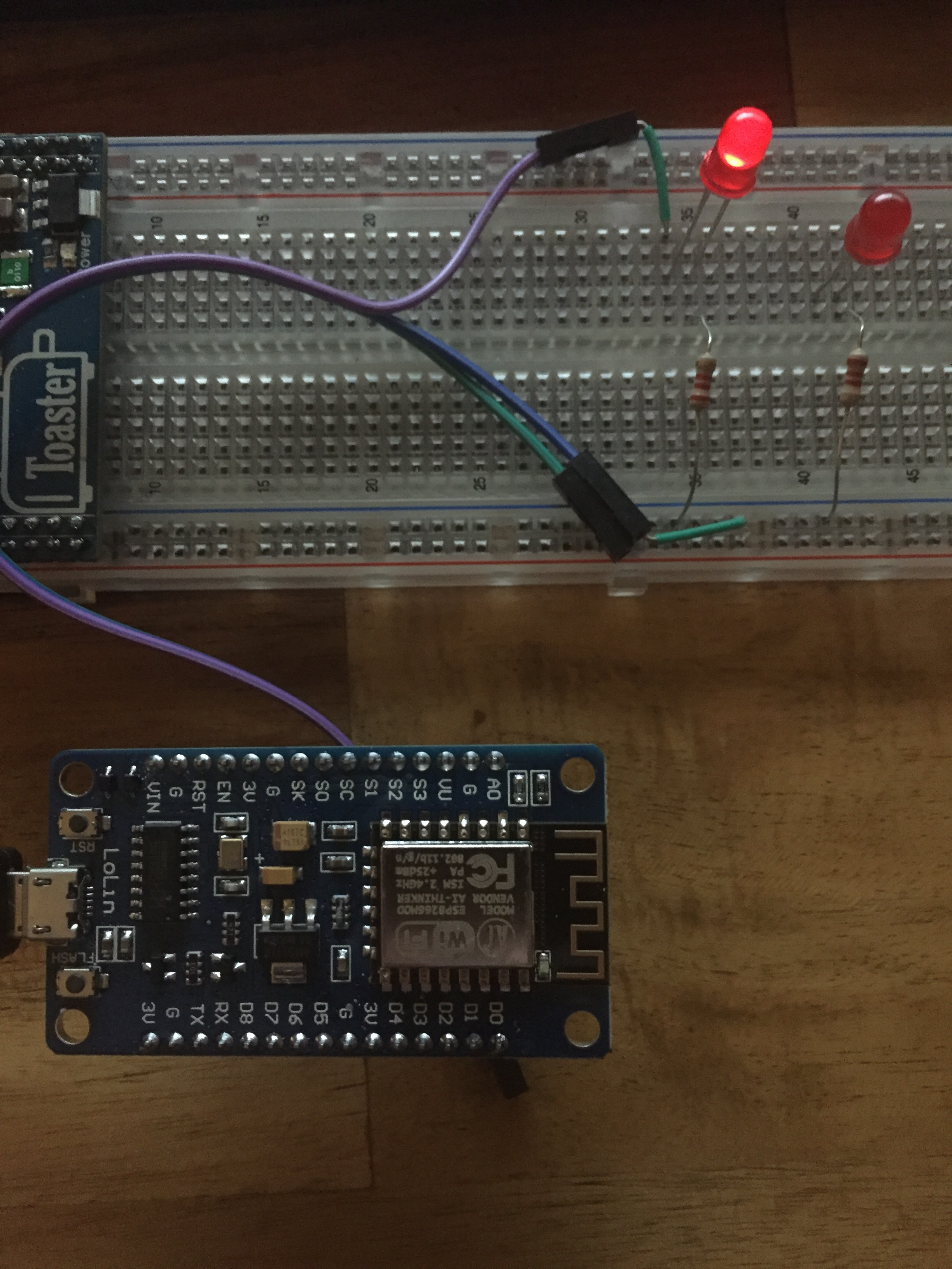 Blink with ESP8266 and Visuino