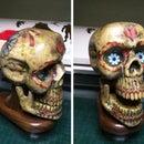 Wooden Sugar Skull