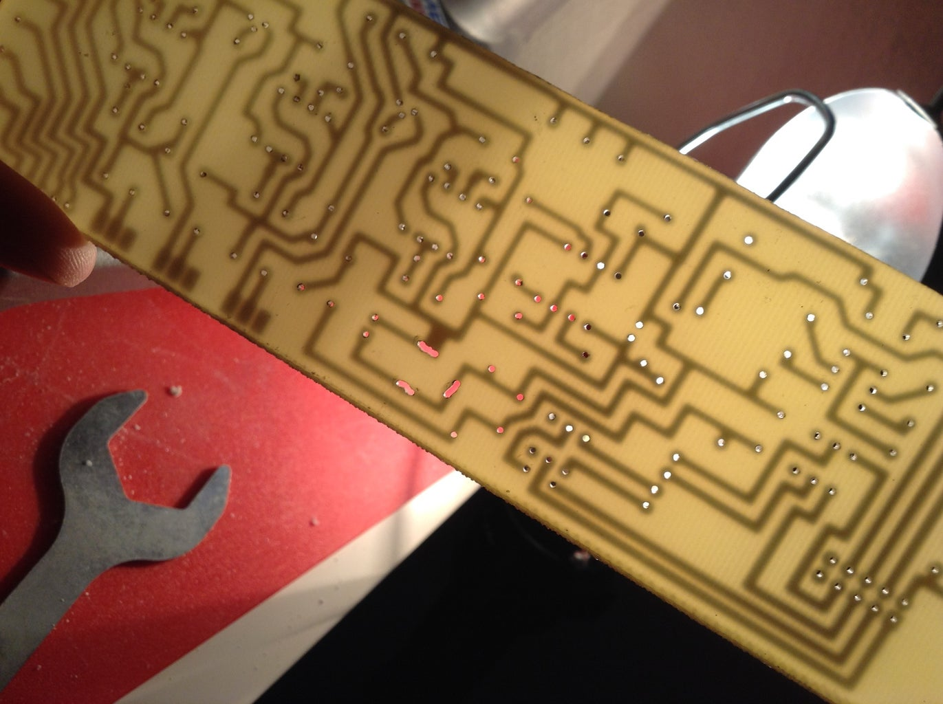 Making the PCB