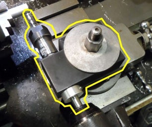 3d Printed Lathe Toolpost Drill for Myford ML10