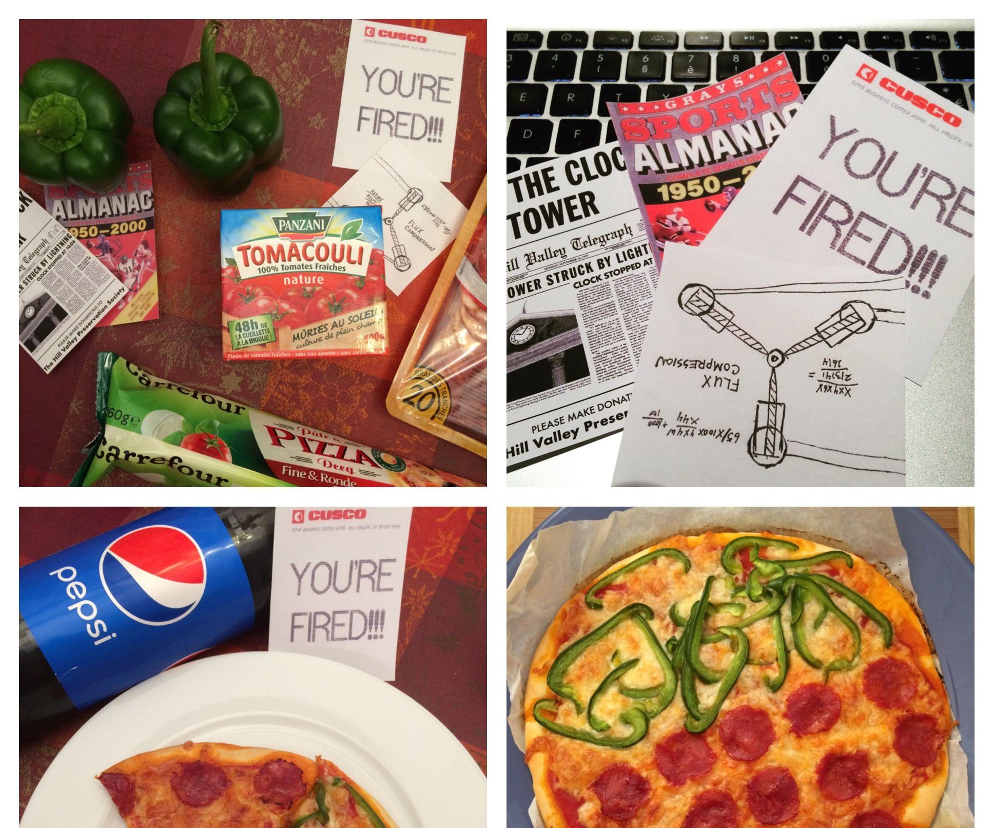 """Pizza Hut"" Dehydrated Pizza Recipe | Back to the Future II"