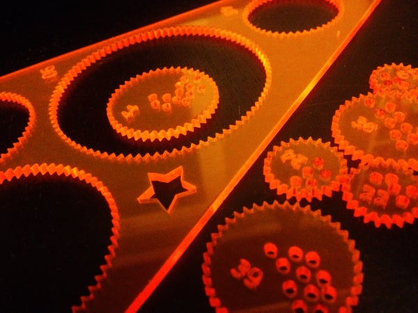 Design a Laser-cut Spirograph-like Toy