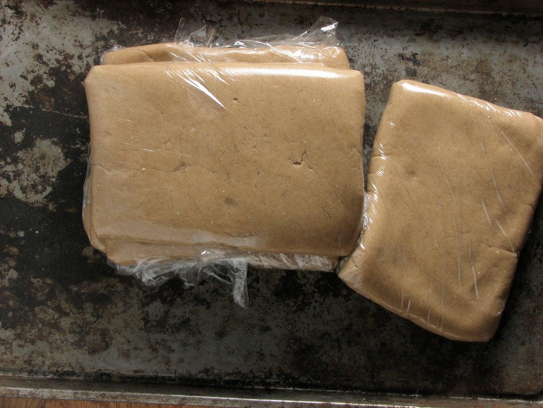 Mix Gingerbread Dough