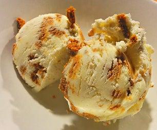 3-Ingredient Gingerbread Ice Cream