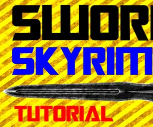 How to Make a Sword in Real Life Skyrim