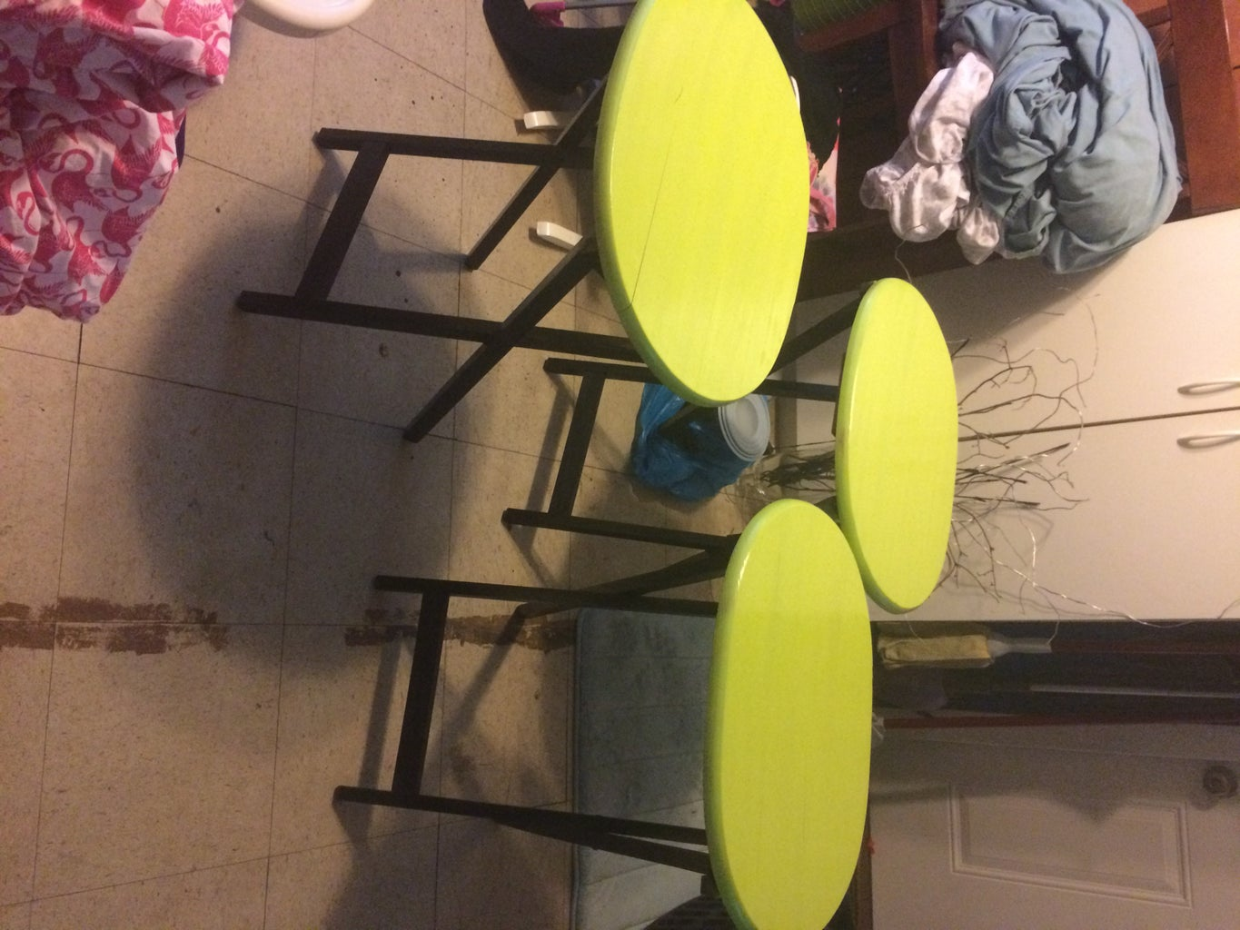 Reclaiming Old TV Trays
