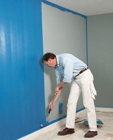 The Fastest Way to Paint a Wall