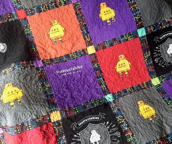 Instructables T-Shirt Quilt