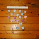 Paper Heart Wall Hanging
