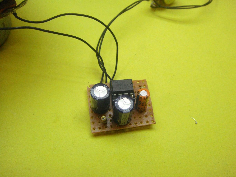Soldering the Amplifier Circuit