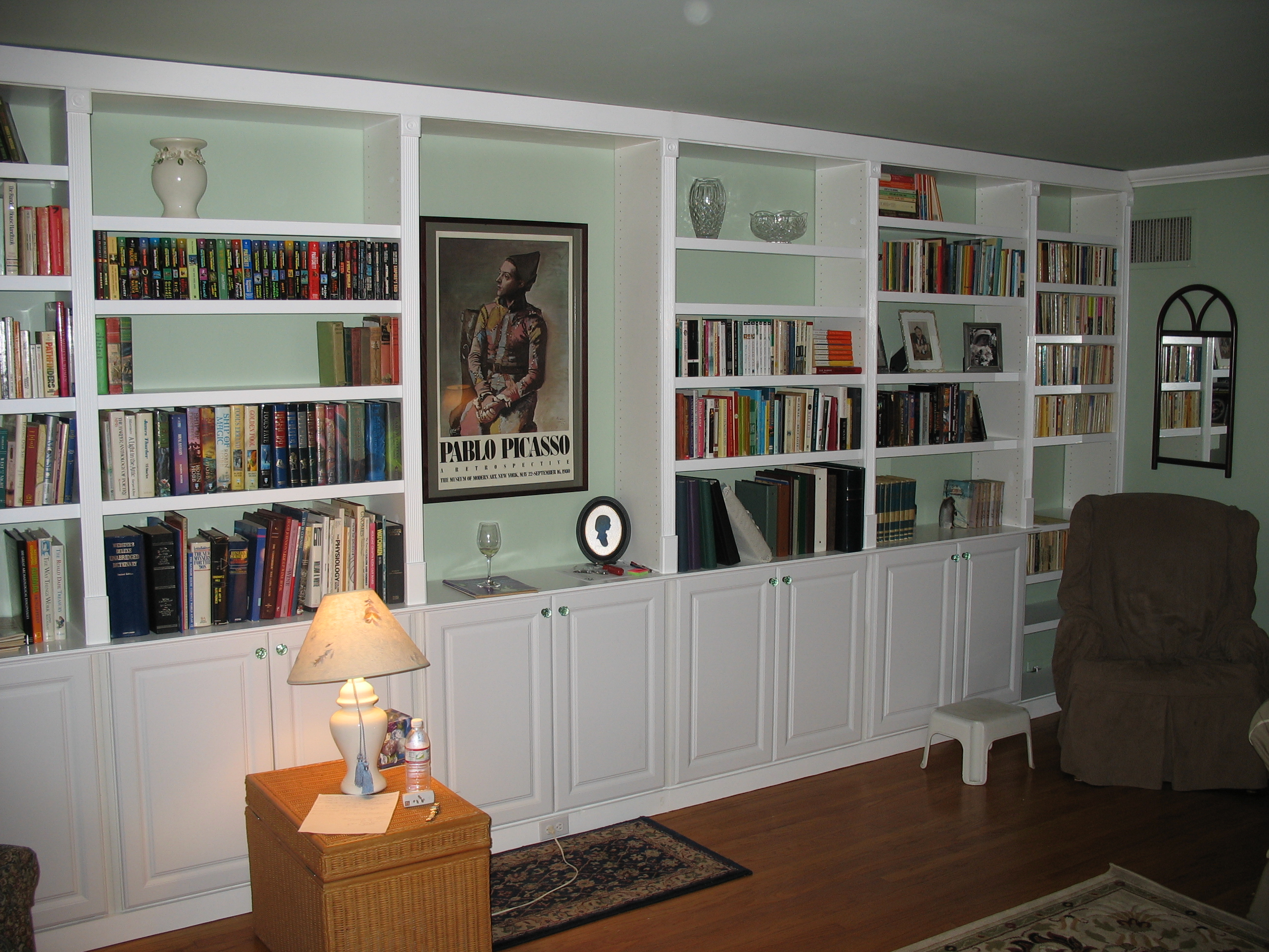 Built In Book Cases