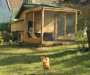 Weekend Backyard Chicken Coop