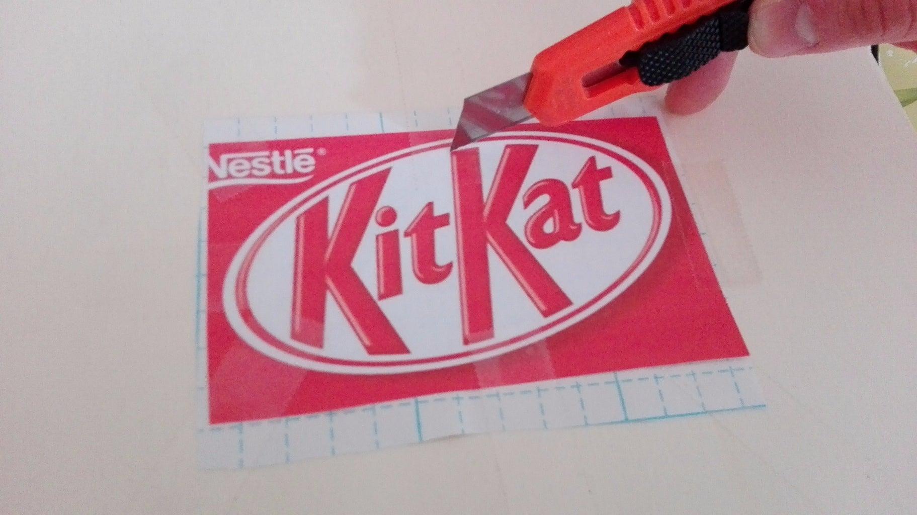 Making the Logo/prepair the Chocolate
