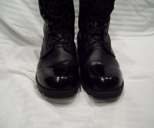 The Simple Way of Polishing Boots