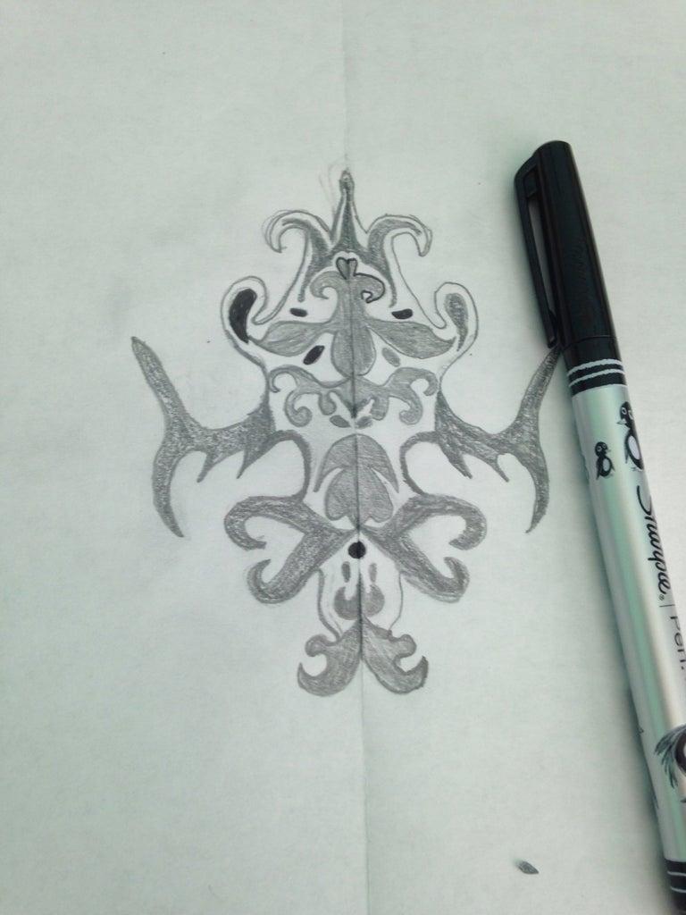 Cutting Out Stencil