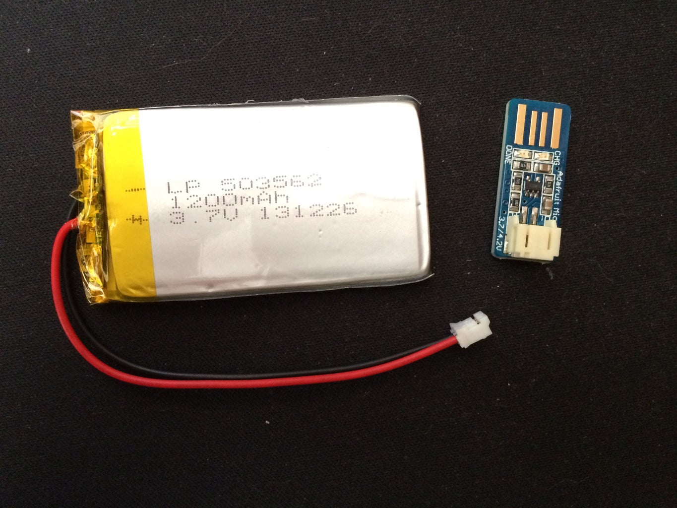 Charge the LiPo Battery