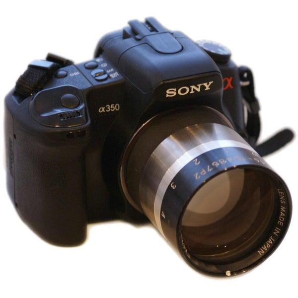 Using Ultra-Fast Lenses on DSLR Cameras