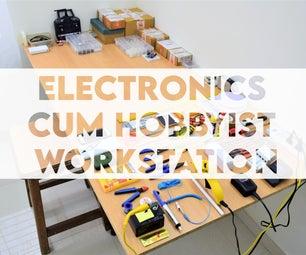 Set Up an Electronics Cum Hobbyist Workstation