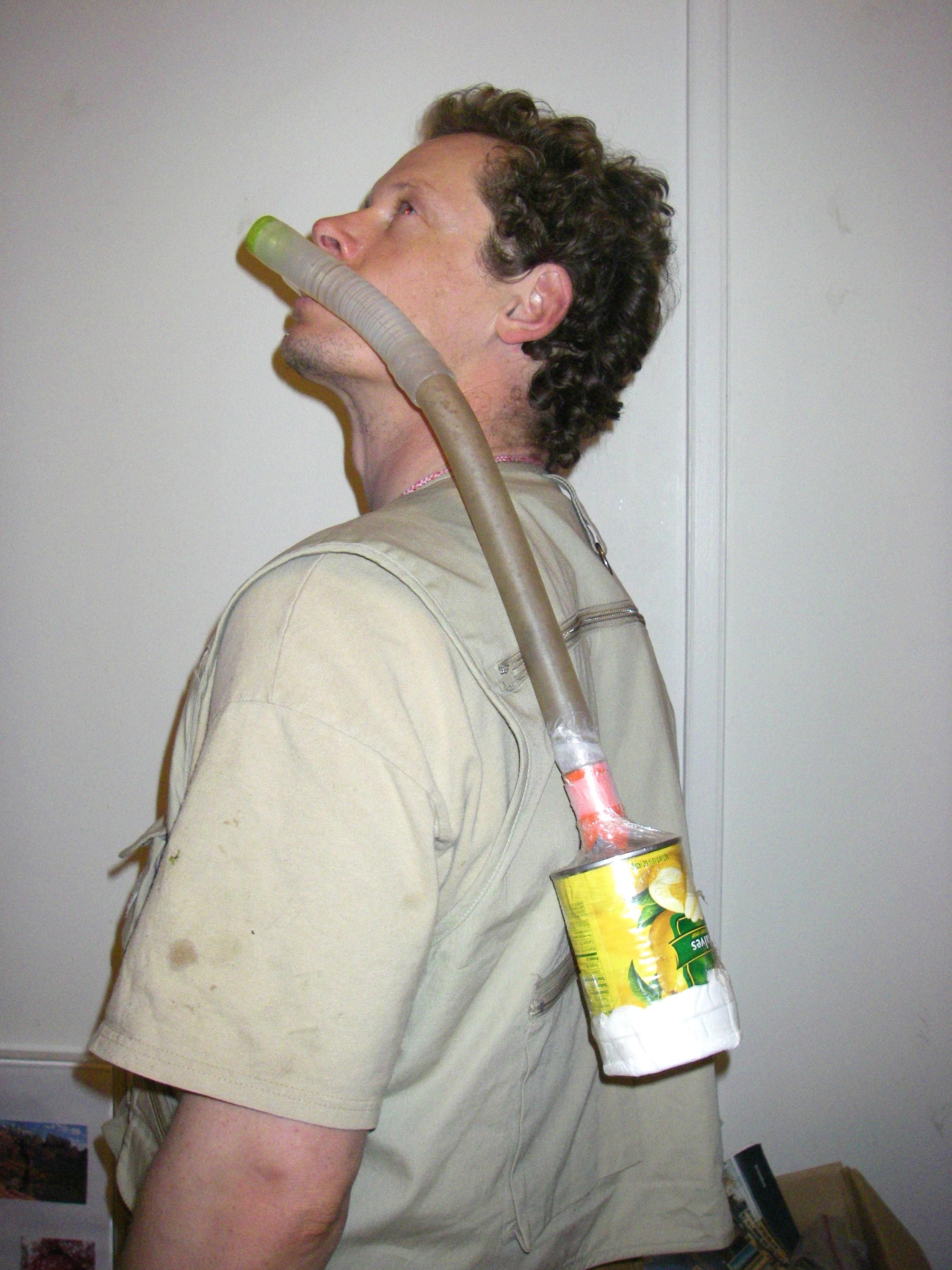 Improvised Gas Mask