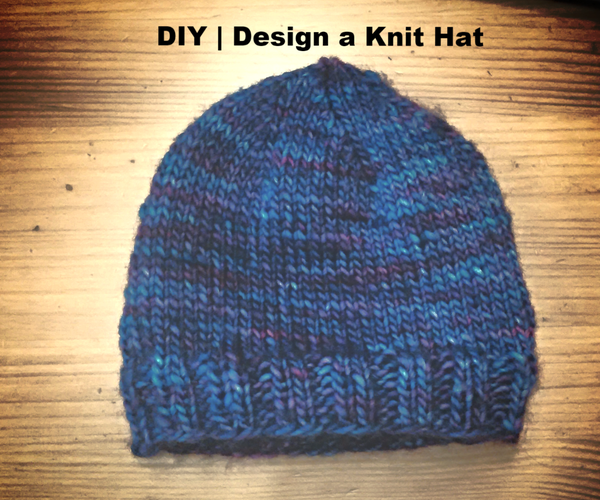 DIY     Knit a Hat Without a Pattern    Basic Design Made Easy
