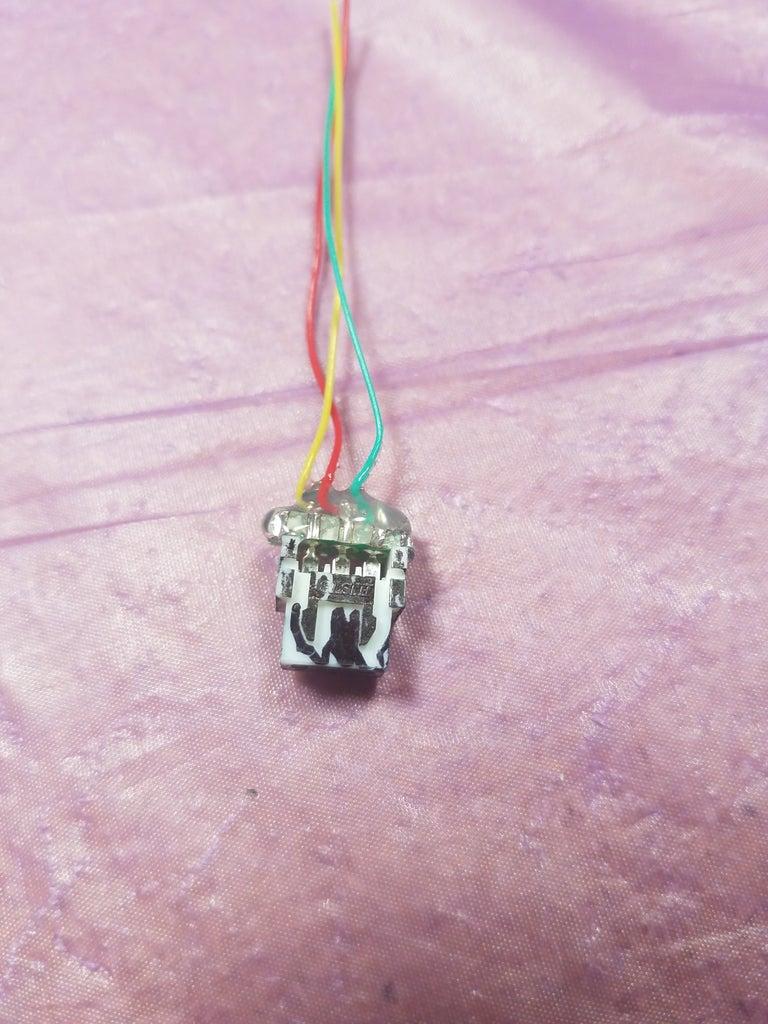 Make Black Connector for LEDs