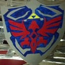 Hylian Shield out of Cardboard
