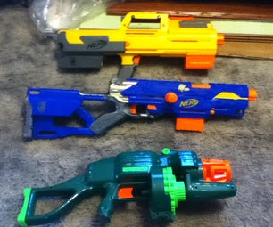 Nerf Inventory & Weapon Combos (slideshow)