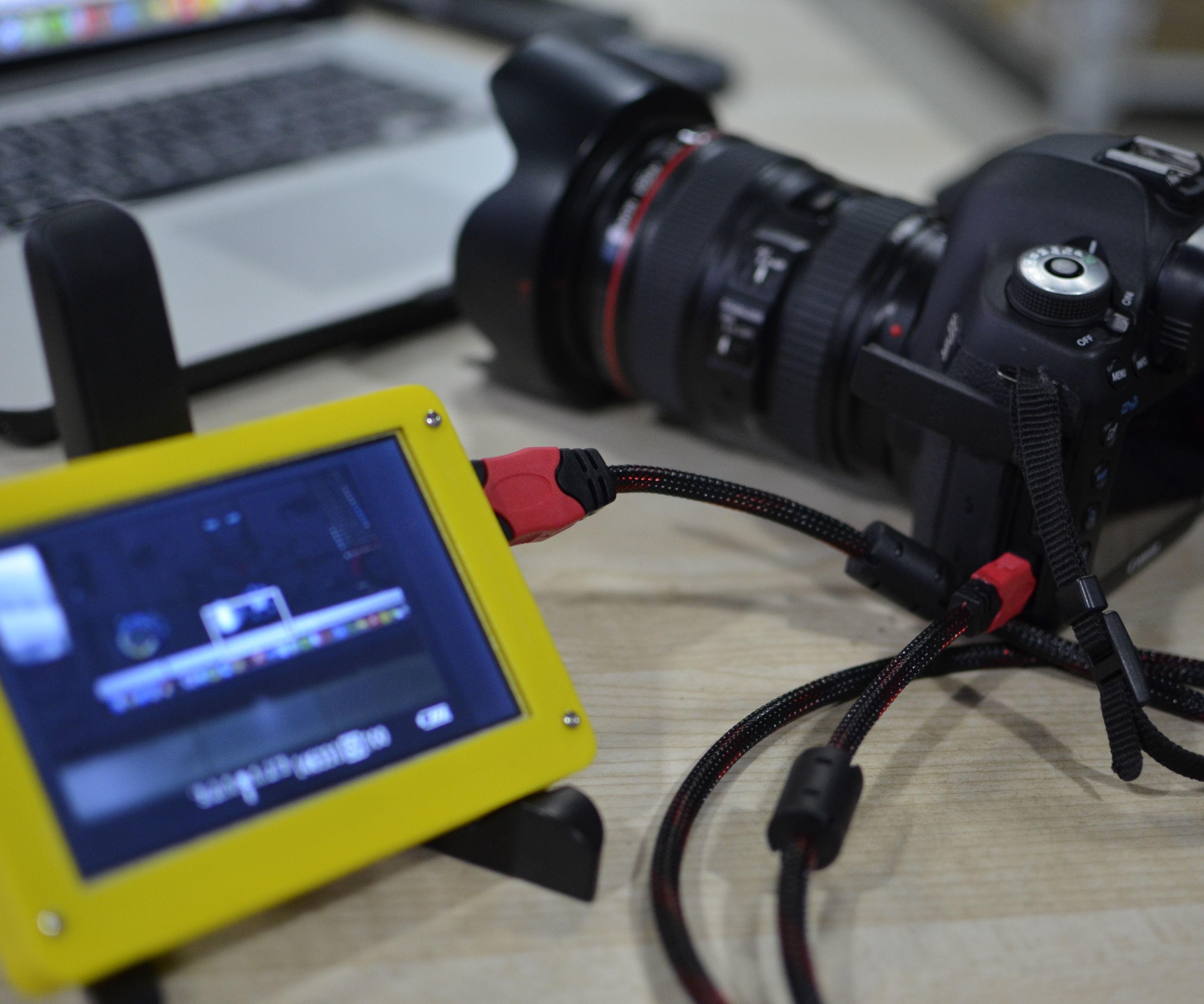 5 Inch HDMI Plug and Play Camera Monitor