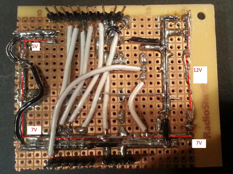 Adding the Servo Pins