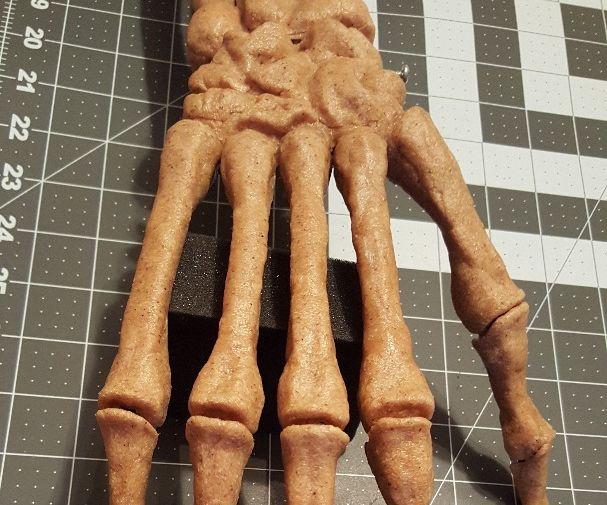 Articulated Skeleton Hand