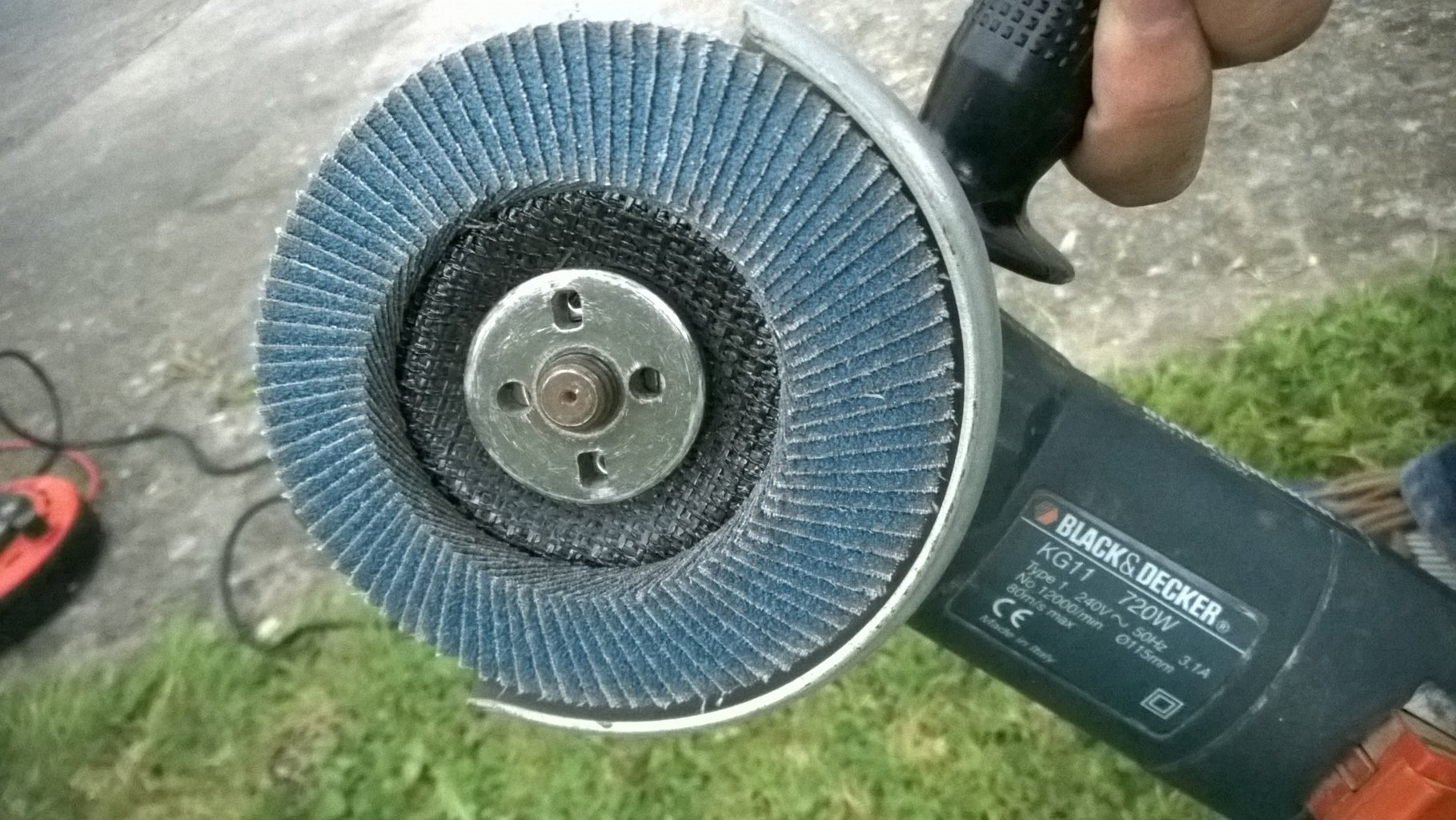 Cleaning the Metal Parts