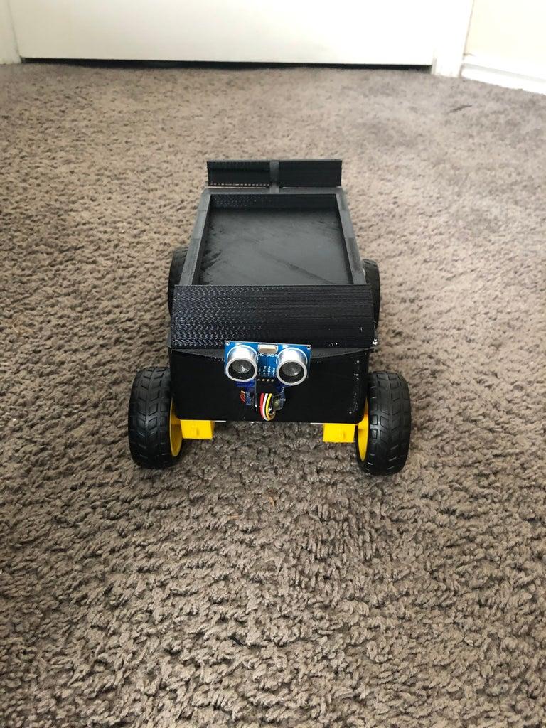 Obstacle Avoiding Robotic Car