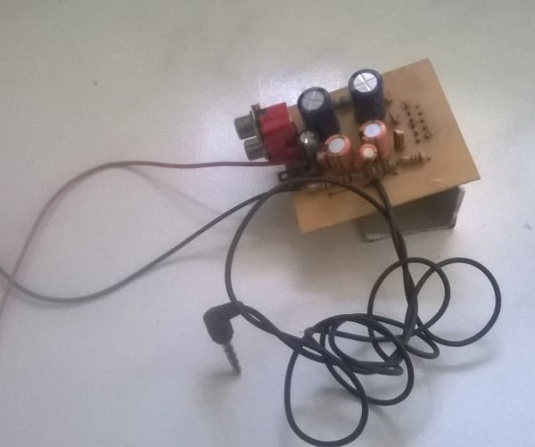 20 Watt Stereo Amplifier-simple and Very Cheap