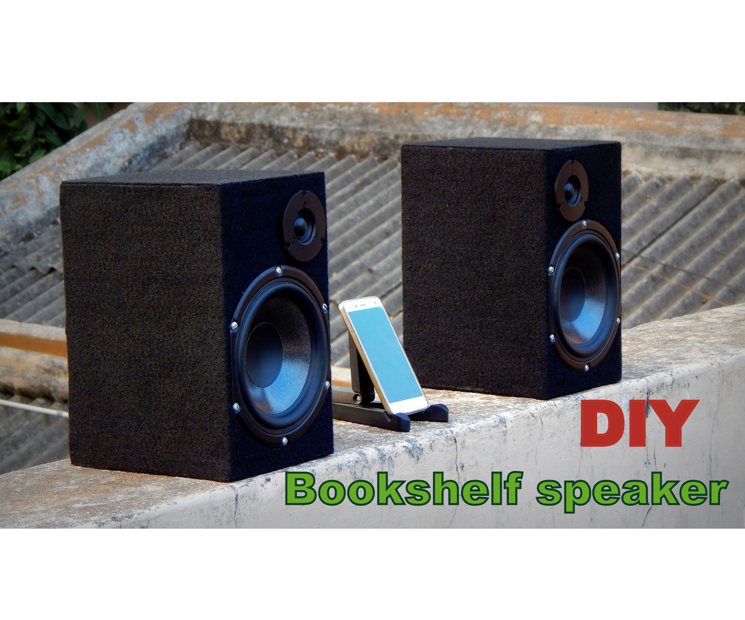 Bookshelf Speaker | Bluetooth Speaker | Build