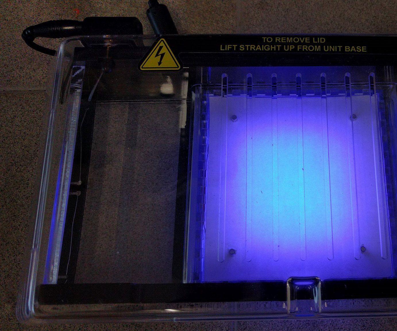 Mini Blue Light Transilluminator (with DIY PCB)
