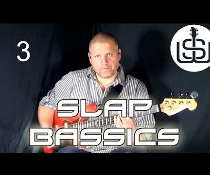 Slap Bassics by Scott Whitley Lesson 3 - Getting a Clear Slap