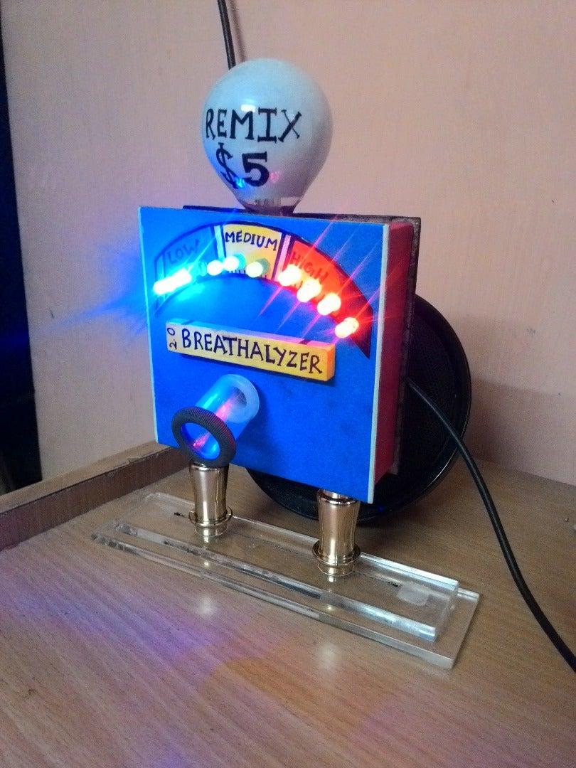 Remix Breathalyzer 2.0 (Alcohol Meter)
