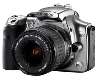 Hack a Canon Digital Rebel 300d