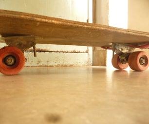 完全回收的滑板
