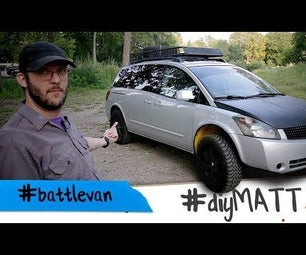 I Made a #battlecar Out of My Soccer Mom Minivan.