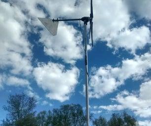 Design a Wind Turbine From Trash