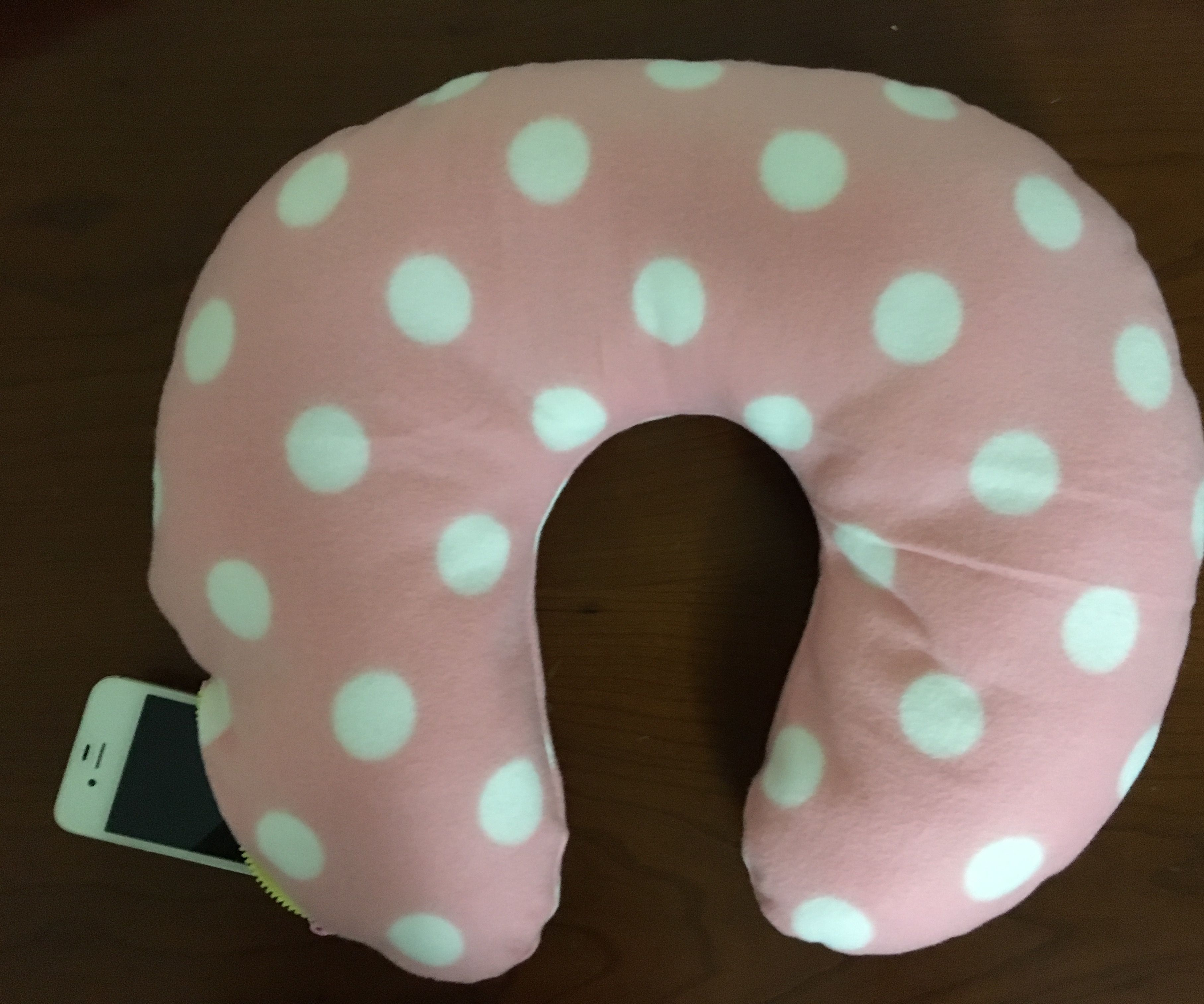 Travel Pillow With Pocket