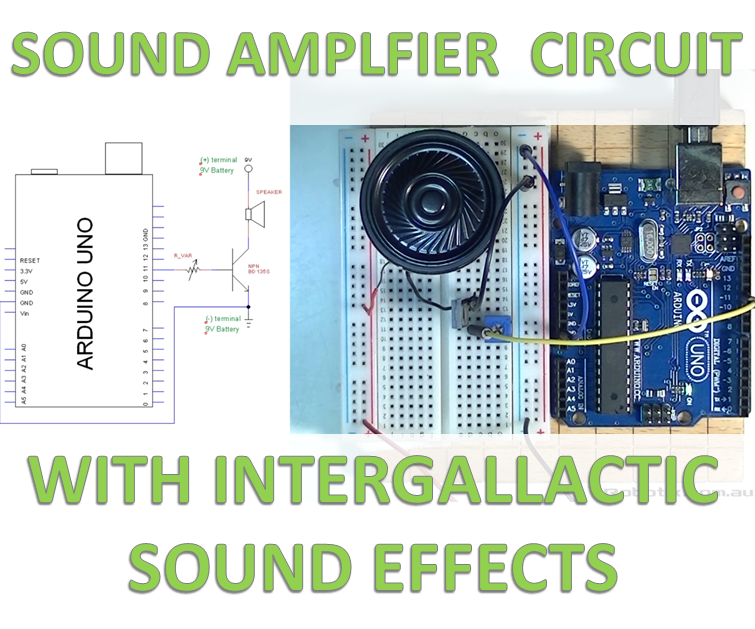 Loud and Awesome sound-effects on Arduino