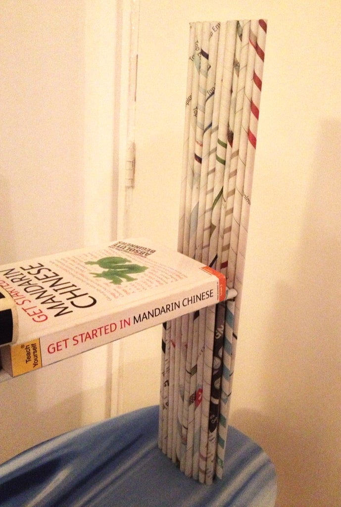 Putting the Book Shelf to Use!